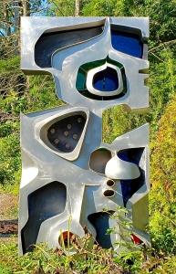 """Seven Stars"" Sculpture by Joseph Ferguson"