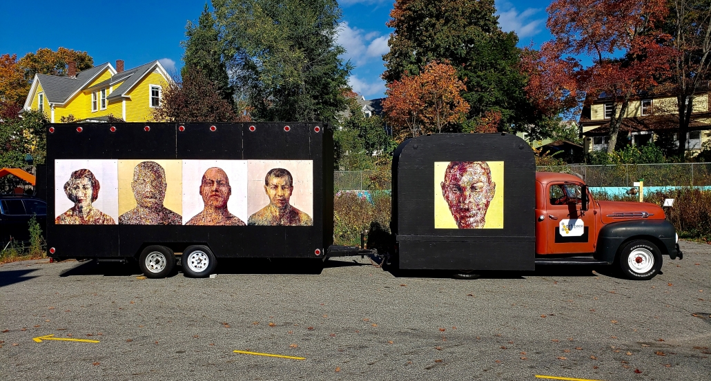 """ArtSpace's Traveling Gallery, """"Faces & Voices"""""""
