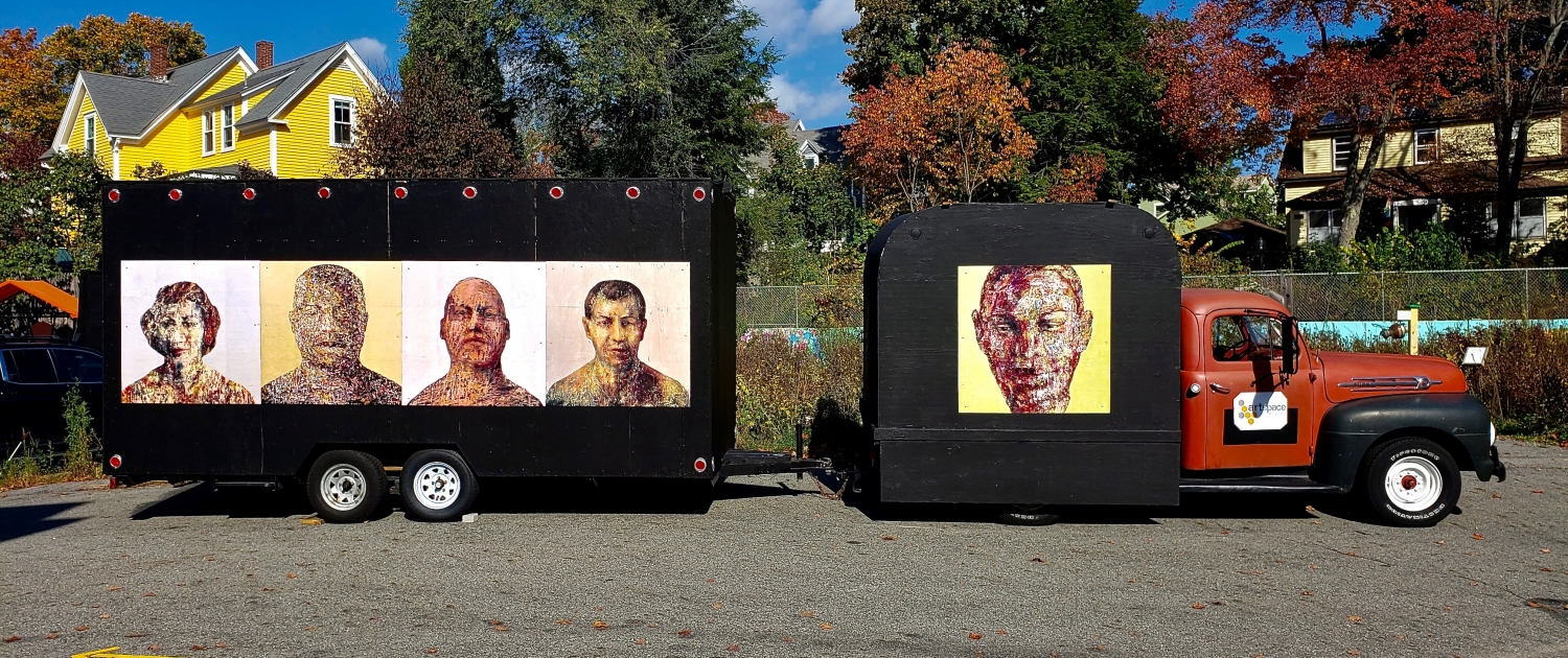 "ArtSpace's Traveling Gallery, ""Faces & Voices"""